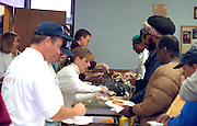 Soup kitchen. Caring and Sharing Hands Minneapolis Minnesota USA