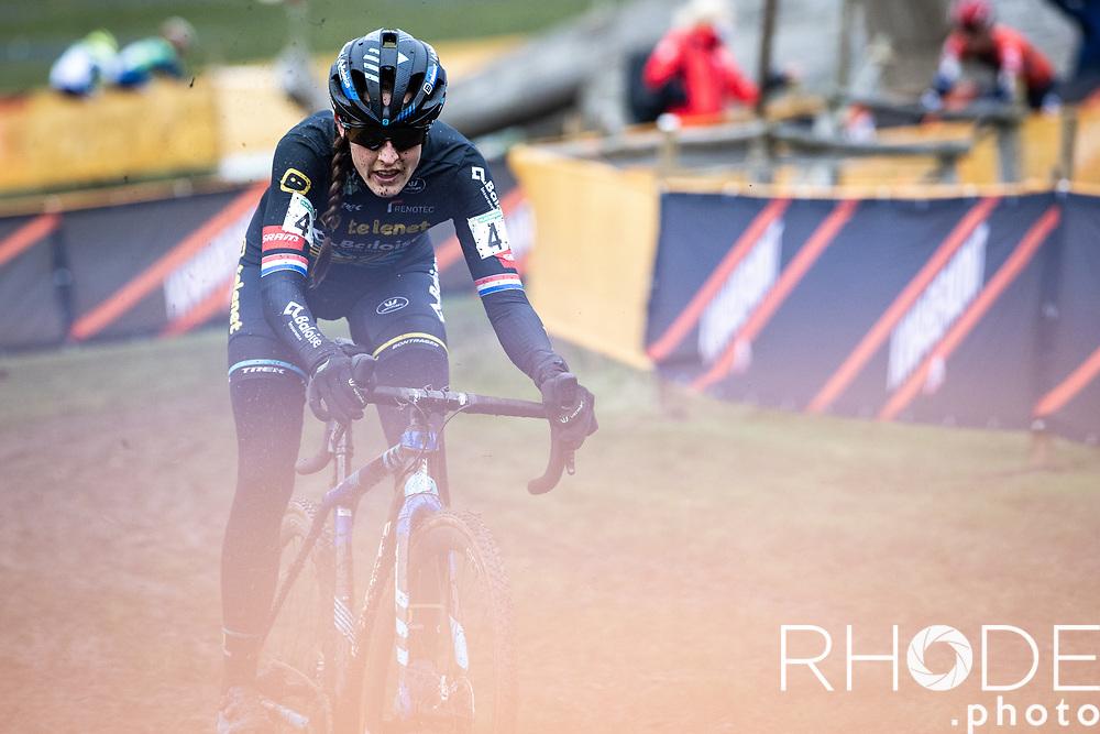 Later Race Winner Lucinda Brand (NED/Telenet Baloise Lions)<br /> <br /> CX Superprestige Boom 2020<br /> Women Elite <br /> <br /> ©RhodeVanElsen
