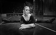 (12/23/03Boston, MA) Portrait of Boston Ballet's Sarah Lamb.  (c) Michael J Seamans..www.michaelseamans.com