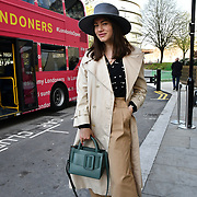 Tania Hergenhahn from Estonia attend The Mayor of London, Sadiq Khan, launch a branded 'We are all Londoners' bus as it begins a four-day 'Advice Roadshow' around the capital. The bus will visit locations in areas with high numbers of European nationals, offering them guidance on how to apply for Settled to Status to remain in the UK following Brexit on 29 March 2019, London, UK.