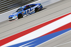 November 3, 2018 - Ft. Worth, Texas, United States of America - Ricky Stenhouse, Jr (17) takes to the track to practice for the AAA Texas 500 at Texas Motor Speedway in Ft. Worth, Texas. (Credit Image: © Justin R. Noe Asp Inc/ASP via ZUMA Wire)