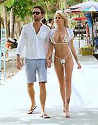 EXCLUSIVE<br /> Hannah Elizabeth and her new boyfriend in Thailand <br /> ©Exclusivepix Media