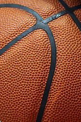 07 January 2015:  close up of basketball
