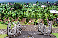 Bali, Karangasem, Besakih. The Mother Temple of Besakih, or Pura Besakih, on the slopes of Mount Agung.