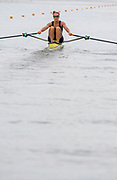 Poznan, POLAND, 21st June 2019, Friday, Morning Heats, NZL W1X, Emma TWIGG, FISA World Rowing Cup II, Malta Lake Course, © Peter SPURRIER/Intersport Images,<br /> <br /> 11:57:08