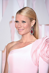 Feb 22, 2015 - Hollywood, California, U.S. - Actress GWYNETH PALTROW on the red carpet during arrivals for the 87th Academy Awards held at the Dolby Theatre. (Credit Image: © Lisa O'Connor/ZUMA Wire/ZUMAPRESS.com)