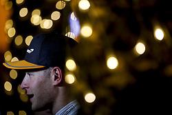 April 7, 2018 - Sakhir, Kingdom of Bahrain - STOFFEL VANDOORNE of McLaren F1 Team is seen after the 2018 FIA Formula 1 Bahrain Grand Prix qualifying session at Bahrain International Circuit in Sakhir, Kingdom of Bahrain. (Credit Image: © James Gasperotti via ZUMA Wire)