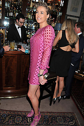 LADY ALEXANDRA SPENCER-CHURCHILL at a dinner hosted by Edward Taylor and Alexandra Meyers in association with Johnnie Walker Blue Label held at Mark's Club, 46 Charles Street, London W1 on 26th April 2012.