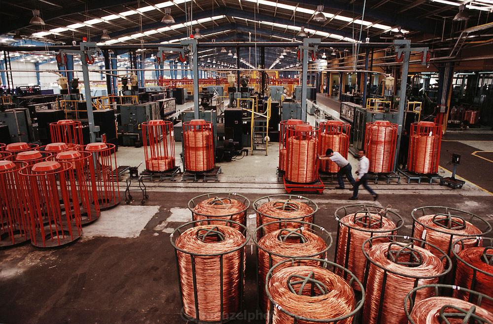 Condumex telephone cable factory. Queretaro, Mexico.