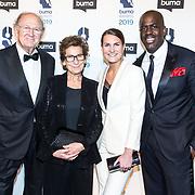 NLD/Hilversum/20190311  - Uitreiking Buma Awards 2019, Joop van de Ende met partner Janine en dochter Iris met haar partner
