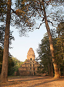 A smaller temple of the Angkor complex in Siem Reap Province, Cambodia