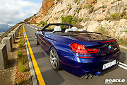 The new M6 convertible photographed for BMW in and around Cape Town. Image by Greg Beadle