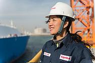 CHINA /  / Qingdao 08//01/2019<br /> <br /> Sinopec LNG Port / Meeting between Sinopec and ExxonMobil <br /> <br /> © Daniele Mattioli for ExxonMobil