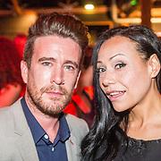 NLD/Amsterdam/20160601 - Uitreiking Porna Awards 2016, Luke Hotrod en Laura Ternillo