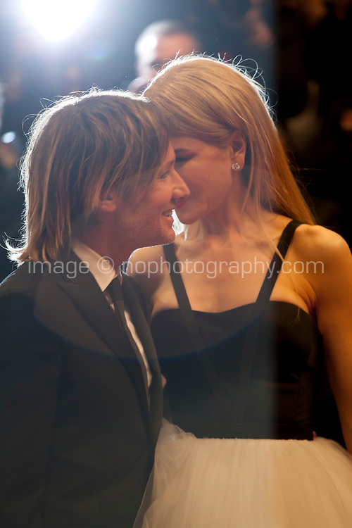 Keith Urban and Nicole Kidman, at The Killing of a Sacred Deer gala screening at the 70th Cannes Film Festival Monday 22nd May 2017, Cannes, France. Photo credit: Doreen Kennedy