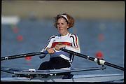 Sydney, AUSTRALIA,  GER W1X, .Katrin RUTSCHOW. 2000 Olympic Regatta, West Lakes Penrith. NSW.  [Mandatory Credit. Peter Spurrier/Intersport Images] Sydney International Regatta Centre (SIRC) 2000 Olympic Rowing Regatta00085138.tif