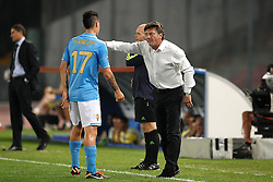 27.09.2011, Stadio San Paolo, Neapel, ITA, UEFA CL, Gruppe A, SSC Neapel vs FC Villarreal, im Bild Marek HAMSIK and Walter MAZZARRI Napoli // during the UEFA Champions League game, group B, SSC Neapel (ITA) vs FC Villarreal (ESP) at San Paolo stadium in Neapel, Italy on 2011/09/27. EXPA Pictures © 2011, PhotoCredit: EXPA/ InsideFoto/ Andrea Staccioli +++++ ATTENTION - FOR AUSTRIA/(AUT), SLOVENIA/(SLO), SERBIA/(SRB), CROATIA/(CRO), SWISS/(SUI) and SWEDEN/(SWE) CLIENT ONLY +++++