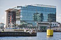 AMSTERDAM - Het Conservatorium van Amsterdam met daarnaast de bibliotheek.    ANP COPYRIGHT KOEN SUYK