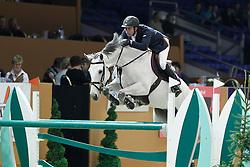 Van Der Vleuten Eric (NED) - Calypso Z<br /> Jumping Indoor Zuidlaren 2010<br /> © Hippo Foto - Leanjo de Koster