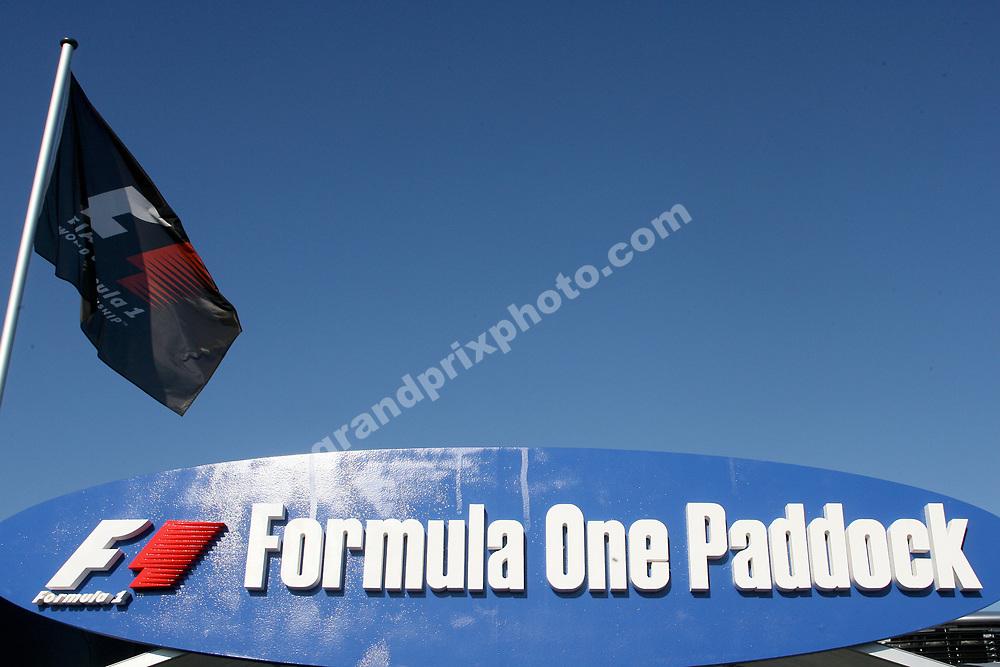 Paddock before the 2011 Italian Grand Prix at Monza. Photo: Grand Prix Photo