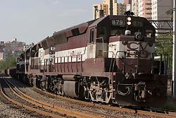 Belo Horizonte, MG, Brasil.Transporte ferroviario de minerio de ferro./ Commodity transportation, iron ore..Foto Marcos Issa/Argosfoto
