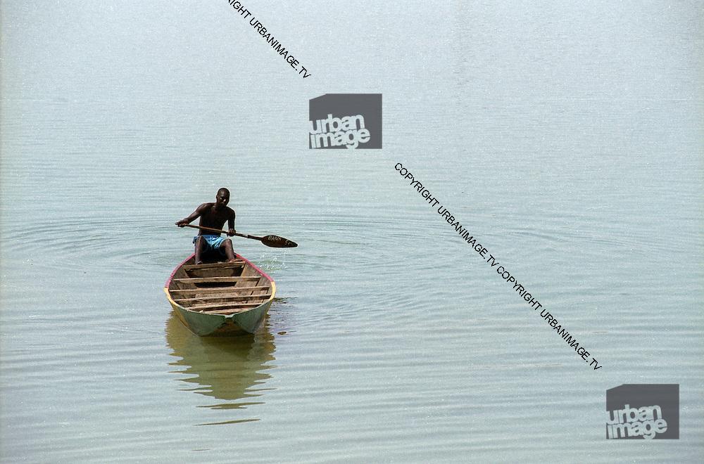 Lone Fisherman on the Senegal River