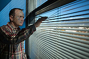 11/17/13 10:08:57 AM -- Albuquerque NM  -- Portait of Jay McCleskey at his office in Albuquerque NM.<br /> <br />  --    Photo by Steven St John