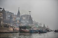 Manikarnika Ghat (Burning Ghat), Varanasi, Uttar Pradesh, India