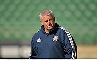 4 June 2013; British & Irish Lions head coach Warren Gatland during the captain's run ahead of their game against Western Force on Wednesday. British & Irish Lions Tour 2013, Captain's Run, Nib Stadium, Pier Street, Perth, Australia. Picture credit: Stephen McCarthy / SPORTSFILE