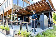 Jesse Romero, chef at Solstice Pizza in Hood River, Oregon