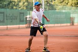 Drzavno prvenstvo novinarjev v tenisu 2019, on June 12, 2019 in Tivoli, Ljubljana, Slovenia. Photo by Saso Pahic Szabo / Sportida