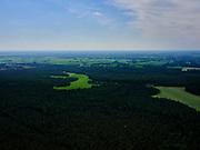 Nederland, Overijssel, Gemeente Ommen; 21–06-2020; bosgebied ten zuiden van Landgoed Junne, tussen Junne en Den Ham.<br /> Forest area south of Landgoed Junne.<br /> luchtfoto (toeslag op standard tarieven);<br /> aerial photo (additional fee required)<br /> copyright © 2020 foto/photo Siebe Swart