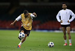 Juventus' Tomas Rincon during a training session held at the National Stadium in Wales ahead of tomorrow's UEFA Champions League Final against Real Madrid