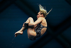 Robyn Birch from Plymouth Diving compete in the Womens 10m Platform Final - Mandatory byline: Rogan Thomson/JMP - 11/06/2016 - DIVING - Ponds Forge - Sheffield, England - British Diving Championships 2016 Day 2.