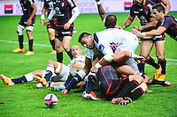 Zurab ZHVANIA - 24.04.2015 - Stade Francais / Stade Toulousain - 23eme journee de Top 14<br />