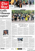 March 03, 2021 (AFRICA): Front-page: Today's Newspapers In Africa