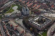 Centrum van Leeuwarden met Amelandsdwinger, Oostersingel en Vijverstraat