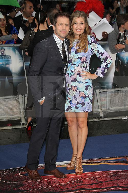 © Licensed to London News Pictures. 12/06/2013. London, UK. Zack Snyder; Deborah Snyder,  Man of Steel European Film Premiere, Leicester Square London UK, 12 June 2013. Photo credit : Richard Goldschmidt/Piqtured/LNP