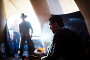 during the Ranchman's PBR event in Calgary, Alberta Tuesday, July 4, 2017. Todd Korol/The Globe and Mail