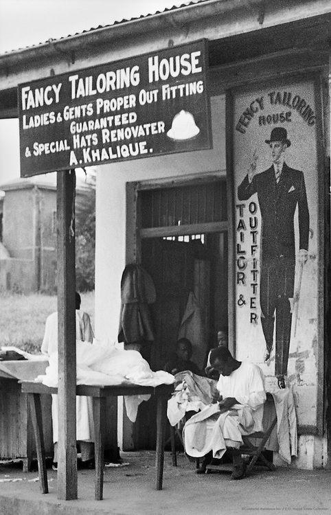 Tailor, Kampala, Uganda, Africa, 1937
