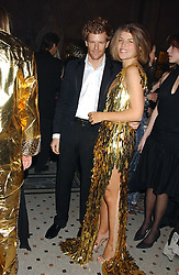 AMBER NUTTALL and TOM AIKENS at Andy & Patti Wong's annual Chinese New Year party, this year celebrating the year of the dog held at The Royal Courts of Justice, The Strand, London WC2 on 28th January 2006.<br /><br />NON EXCLUSIVE - WORLD RIGHTS