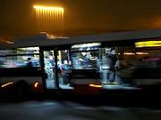 Prague public bus.