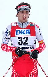 Mitja Oranic of Slovenia at Nordic Combined Individual Gundersen NH, 10 km, at FIS Nordic World Ski Championships Liberec 2008, on February 22, 2009, in Vestec, Liberec, Czech Republic. (Photo by Vid Ponikvar / Sportida)
