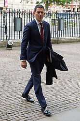 © Licensed to London News Pictures. 20/06/2019. London, UK. David Miliband attend a Service of Thanksgiving for Lord Haywood at Westminster Abbey. Jeremy Heywood served as Cabinet Secretary from 2012 and Head of the Home Civil Service until shortly before his death in 2018. Photo credit: Ray Tang/LNP