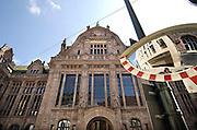 Duitsland, Dusseldorf, 2-6-2012Het gebouw de Stahlhof. Gebouwd door de industrielen in de staalindustrie in de 20er jaren om de grootsheid en macht van deze bedrijfstak in het ruhrgebied te verbeelden.Foto: Flip Franssen/Hollandse Hoogte