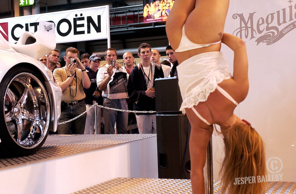 Max Power 2004 3 PIC BY JESPER BALLEBY.Max Power Live.Girls and Cars, in that order, at the NEC