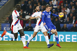 February 23, 2019 - Leicester, England, United Kingdom - Leicester City's Jamie Vardy.during English Premier League between Leicester City and Crystal Palace at King Power stadium , Leicester, England on 23 Feb 2019. (Credit Image: © Action Foto Sport/NurPhoto via ZUMA Press)