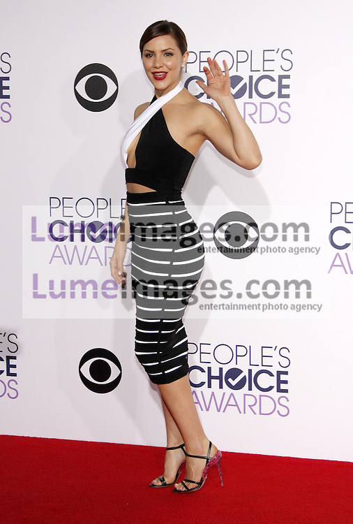 Katharine McPhee at the 41st Annual People's Choice Awards held at the Nokia L.A. Live Theatre in Los Angeles on January 7, 2015. Credit: Lumeimages.com