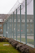 Exterior view of C wing at HMP Downview, Surrey, United Kingdom.