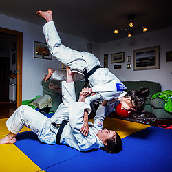 20200510: SLO, Judo - Portraits of Anja and Marusa Stangar
